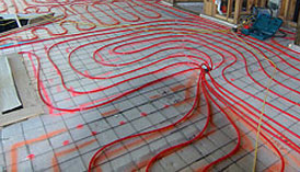 Radiant Heat Flooring